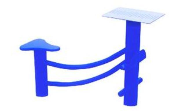 欧式户外桌椅单脚